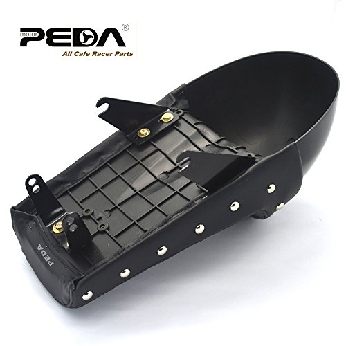 PEDA New Cafe Racer Stud Seat For Honda Gorilla Motorcycle Retro Hump Monkey Z Vintage 2