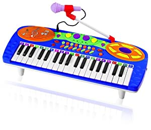 Kids Authority 37 Keys standard Kids Keyboard / Piano with Microphone