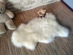 Soft Sheepskin Rug| Genuine | Thick Wool | 44\