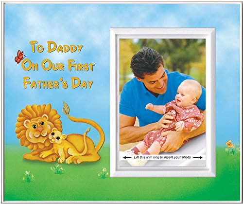To Daddy on Our First Father's Day - Picture Frame Gift - 1