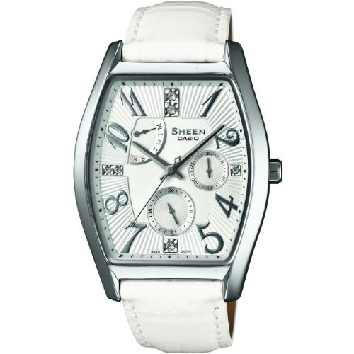 Casio - Reloj de pulsera mujer, piel