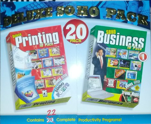 Super SOHO 20 Pack - Business Productivity Software