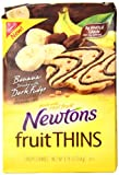 Newtons Fruit Thins Crispy Cookies, Banana with Dark Fudge, 8.75 Ounce Package (Pack of 8)