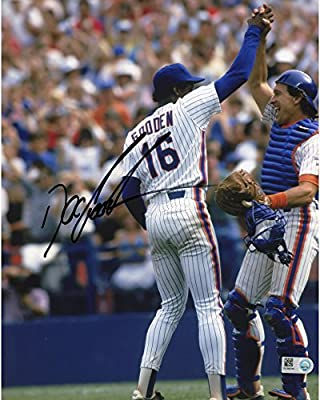 Doc Gooden New York Mets Autographed 8'' x 10'' High Fiving Photograph - Fanatics Authentic Certified