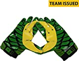 Oregon Ducks Team-Issued Green and Yellow Vapor Jet 2 Nike Football Gloves - Size 3XL - Fanatics Authentic Certified