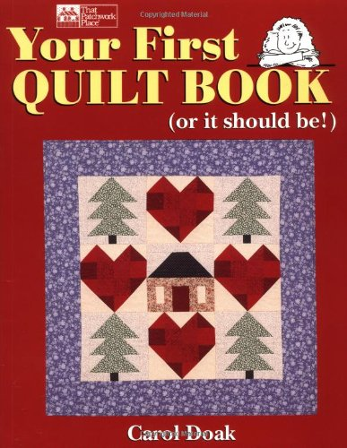 Your First Quilt Book (or it should be!)