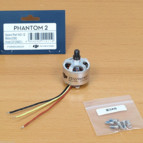 Dji 2312 motor with cw rotation for phantom 2 quadcopter for Dji phantom 2 motor specs