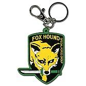 メタルギアソリッド FOX HOUND フォックスハウンド ゴム製キーホルダー 北米限定