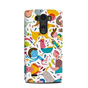 LG G3 Case cover StyleO Colourful pattern