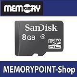 SanDisk microSD 8GB + SD Adapter 5