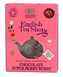 Amazon.co.jpイングリッシュティーショップ チョコレート&スーパーベリー ティーバッグ1袋入り CHOCOLATE SUPER BERRY BURST 1袋入りミニペーパーボックス