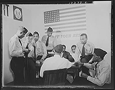 1942 Photo Washington, D.C. Auxiliary police at a weekly meeting Location: Washington D.C.