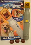 PEDI PAWS BATTERY POWERED PET NAIL CLAW TRIMMER