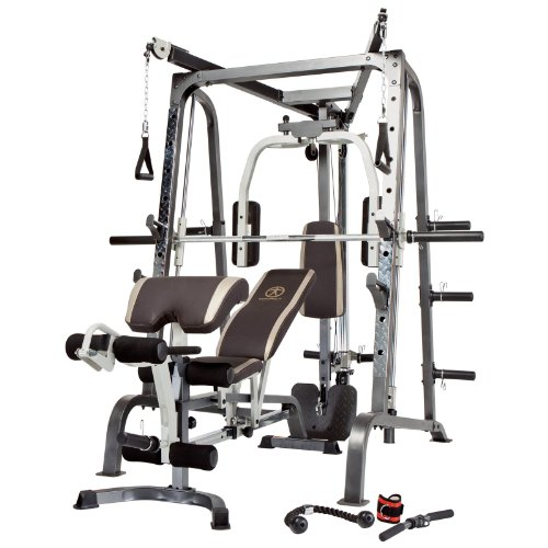 Home Exercise Equipment Price: Buy Marcy Diamond Elite Smith System With Linear Bearings