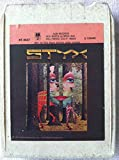 STYX The Grand Illusion 8 track tape Original Come Sail Away