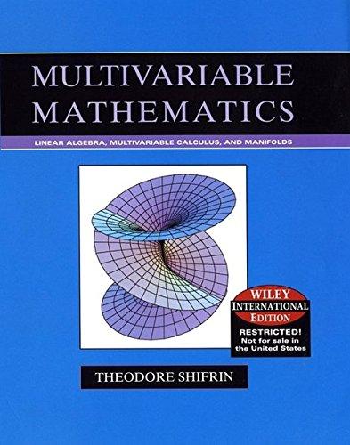 Multivariable Mathematics
