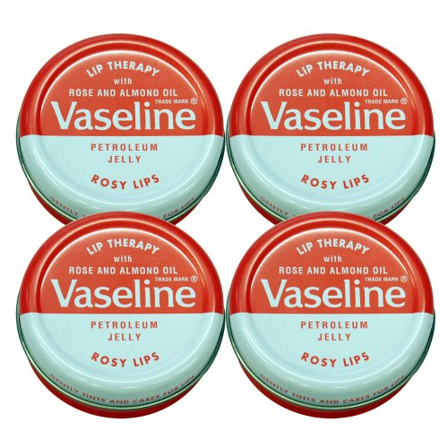 Vaseline Lip Therapy ヴァセリン 20g Rose 4個セット 4pcs set