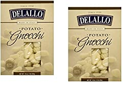 Delallo Potato Gnocchi Pasta ~ 2 boxes ~ 16 oz