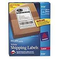 Shipping Labels with TrueBlock Technology, 5-1/2 x 8-1/2, White, 200/Box
