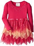 Beautees Little Girls Tiered Tonal Tunic