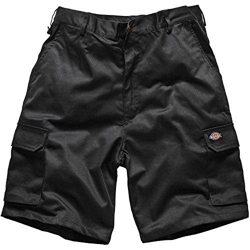 Mens Dickies Redhawk Pantaloncini da lavoro Cargo Multi Tasche Black 32W Regular