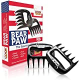 Best BBQ Meat Claws Shredder Bear Claw Tool Carving Fork Meat Handing Claw- Meat Claws and Shredder for Pulled Pork, Shredded Chicken, Beef, Barbacoa, Carnitas- MUST HAVE for Grilling and Kitchen Use