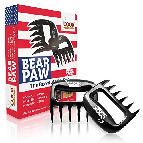 Fantastic Deal! Best BBQ Meat Claws Shredder Bear Claw Tool Carving Fork Meat Handing Claw- Meat Cla...