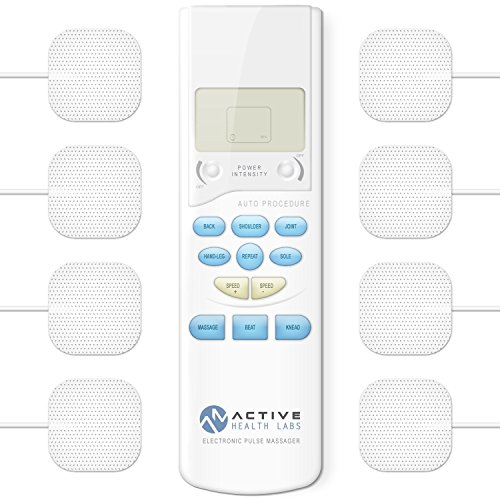Active Health Labs TENS Electronic Pulse Massager - Therapeutic Pain Relief - Electrotherapy Back, Shoulder and Neck Pain Management - Muscle Stimulator (Electronic Muscle Massager compare prices)