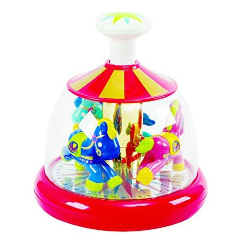 PlayGo Push N Spin Carousel