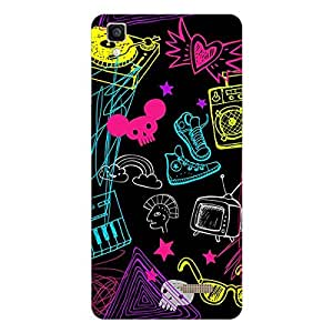 Garmor Designer Silicone Back Cover For Oppo F1s