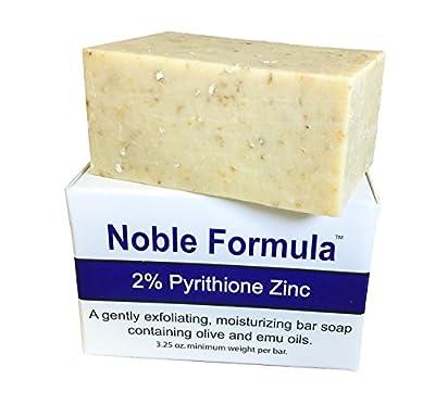 Noble Formula 2% Pyrithione Zinc Bar Soap