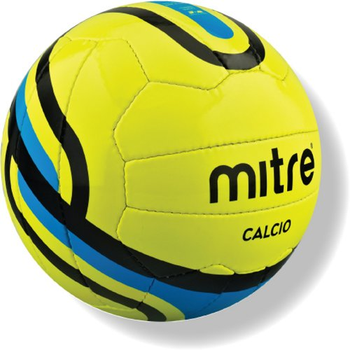 Mitre Calcio Training Football - Yellow, Size 5
