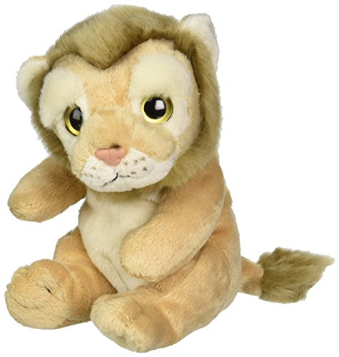 "Ganz 6.5"" Lion Plush Toy"