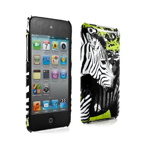Proporta Ben Allen Collaborate Hard Shell (Apple iPod touch 4G Case Cover Sleeve Skin)-Lifetime Warranty - Zebra