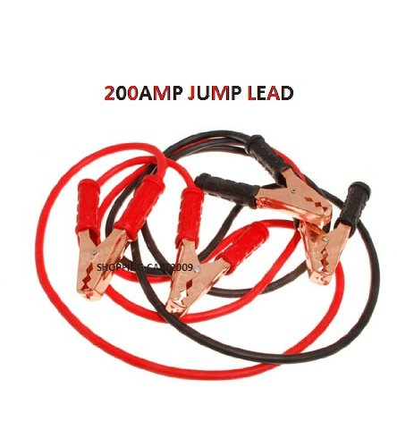 200AMP HEAVY DUTY CAR,VAN LORRIES BATTERY JUMP LEAD CHARGER WITH BAG NEW