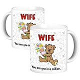 ToduGift You are one in a million wife Ceramic Mug