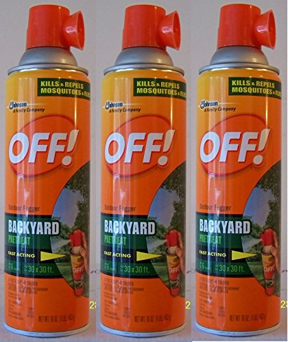 off yard and deck insect repellent pack of 3 lawn and garden