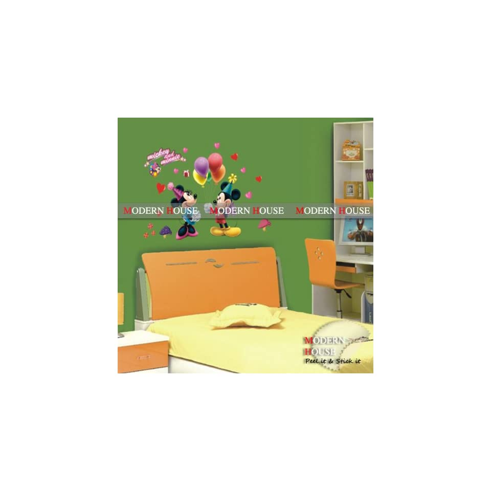 Mouse removable Vinyl Mural Art Wall Sticker Decal