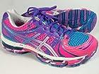 Women's Asics GEL-Kayano 18 Running T250Q Pink size 8