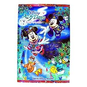ディズニー 2014「ディズニー七夕デイズ」 ミッキーとミニー柄のポストカード ディズニーリゾート