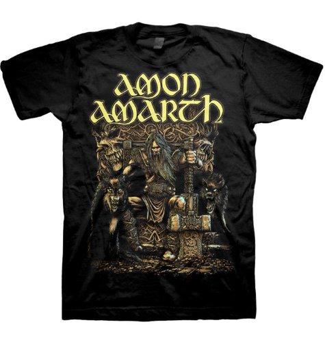 Amon Amarth - Top - Uomo nero Medium