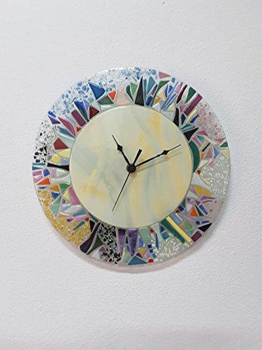 vetrotiffany-alcoa-orologio-da-parete