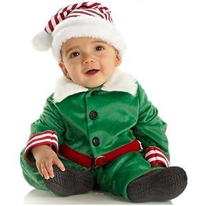 Elf Boy Infant Costume - Size/6-12 Months