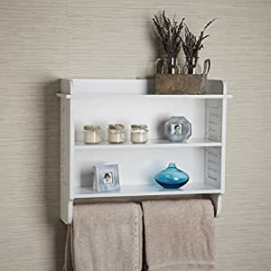 danya btm white bath cabinet with adjustable shelf and. Black Bedroom Furniture Sets. Home Design Ideas