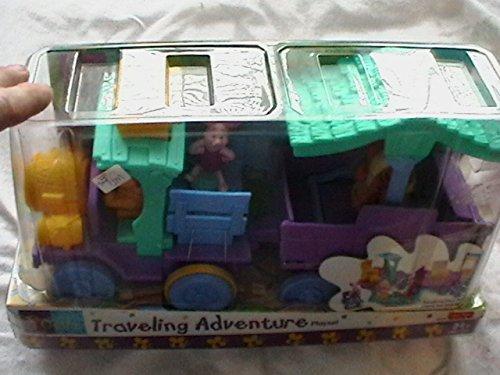 Fisher Price Disney Pooh Traveling Adventure Playset 10 Piece Playset Vintage front-1048833