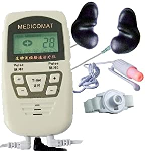 Semiconductor Laser Sports Therapy Instrument Medicomat-10K Low Level 1-5mW Cold Laser Therapeutic Household Nasal Type Pulse Laser Physical Therapy Wavelength 650nm Irradiation and Light Radiation of Laser Lower Triglycerides and Cholesterol Effectively Treat and Prevent Heart and Brain Diseases Laser Blood Irradiation Improving Blood Viscosity Blood Oxygen Reducing Blood Fat and Reducing Total Cholesterol Correct Lipid Metabolism in the Human Body Improve the Partial Blood Circulation Nasal Cavities