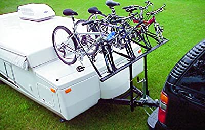ProRac RVPB-040-1 4-Bike Carrier Tent Trailer Bike Rack