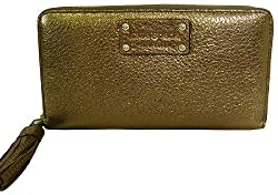 Kate Spade Cheltenham Shiny Neda Continental Leather Wallet, Bronze