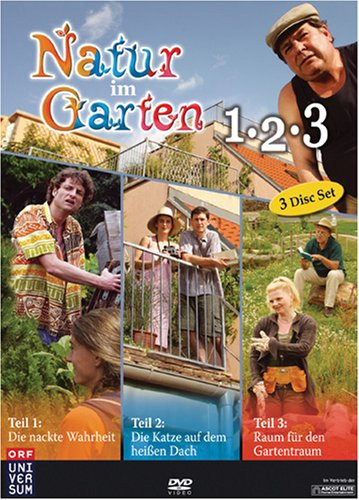 Natur im Garten 1-3 - Boxset [3 DVDs]