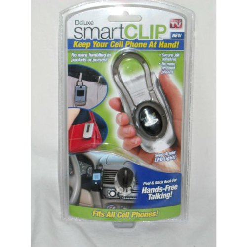 Deluxe SmartClip Universal Cell Phone Clip W/ LED Light